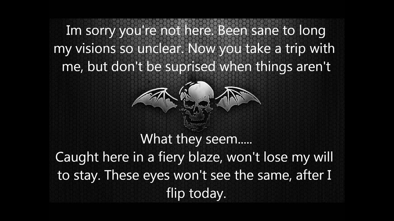 Avenged Sevenfold - Bat Country Lyrics | MetroLyrics