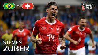 Steven ZUBER Goal - Brazil v Switzerland - MATCH 9 thumbnail