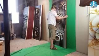 3D Двери изготовление