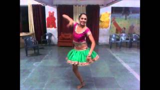One leg performer -Subhreet kaur Ghumman by Rockstar Academy Chandigarh India
