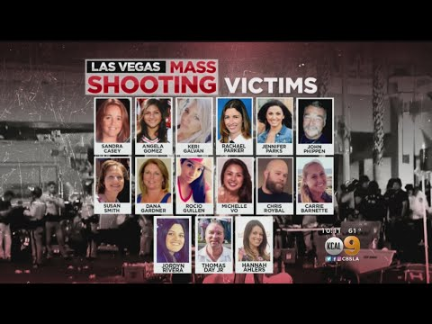 Entire List Of Southern California Victims In The Las Vegas Shooting