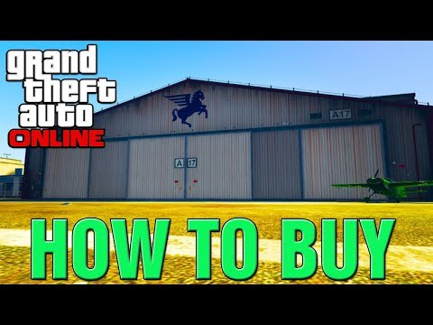 "GTA 5 Online DLC - How To Buy New HANGAR & Start AIR FREIGHT BUSINESS! ""SMUGGLERS RUN DLC 2017"""