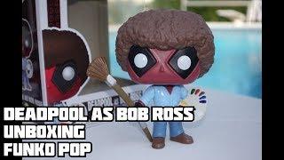 Deadpool As Bob Ross - Funko Pop Unboxing