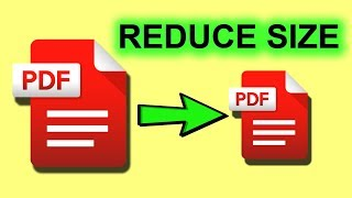 Learn How to make your pdf smaller | Simple tutorial to learn How to make your pdf smaller