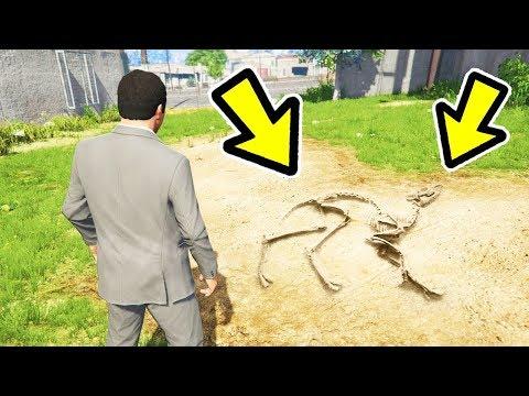 🔴 ראיתם כבר את עצמות הדינוזאורים האלה ב GTA V?! (פותרים את תעלומת הדינוזאורים ב GTA V!)