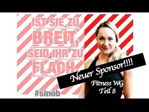 Fitness WG Teil 8: Neuer Sponsor und Formcheck