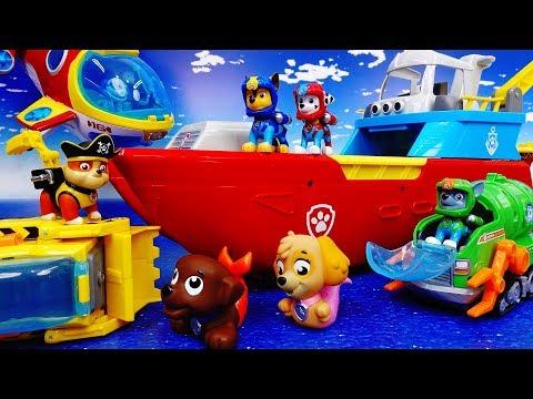 Paw Patrol, Let's Go To The Sea~! Sea Patrol Toys Special - ToyMart TV
