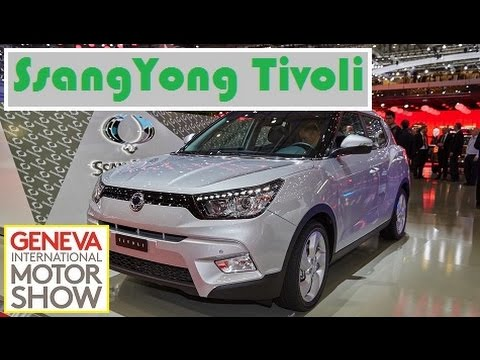 SsangYong Tivoli, live photos at 2015 Geneva Motor Show