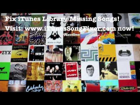 Fix iTunes Library Missing Songs - Fix iTunes Automatically
