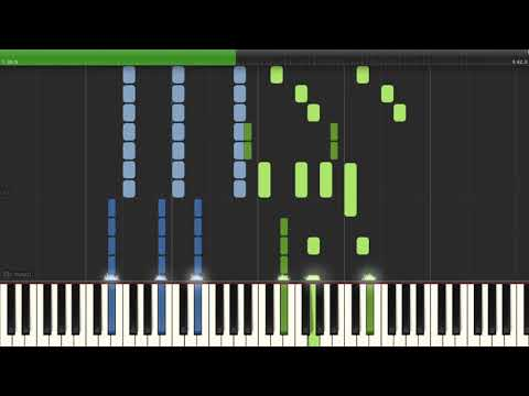 Rewrite The Stars (Advanced Synthesia Piano Cover) - The Greatest Showman