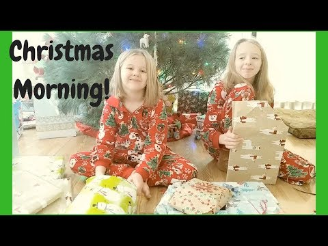 Christmas Morning 2017!  Opening Presents!