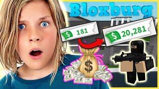 I BECAME A CRIMINAL TRYING TO MAKE MONEY IN BLOXBURG!!