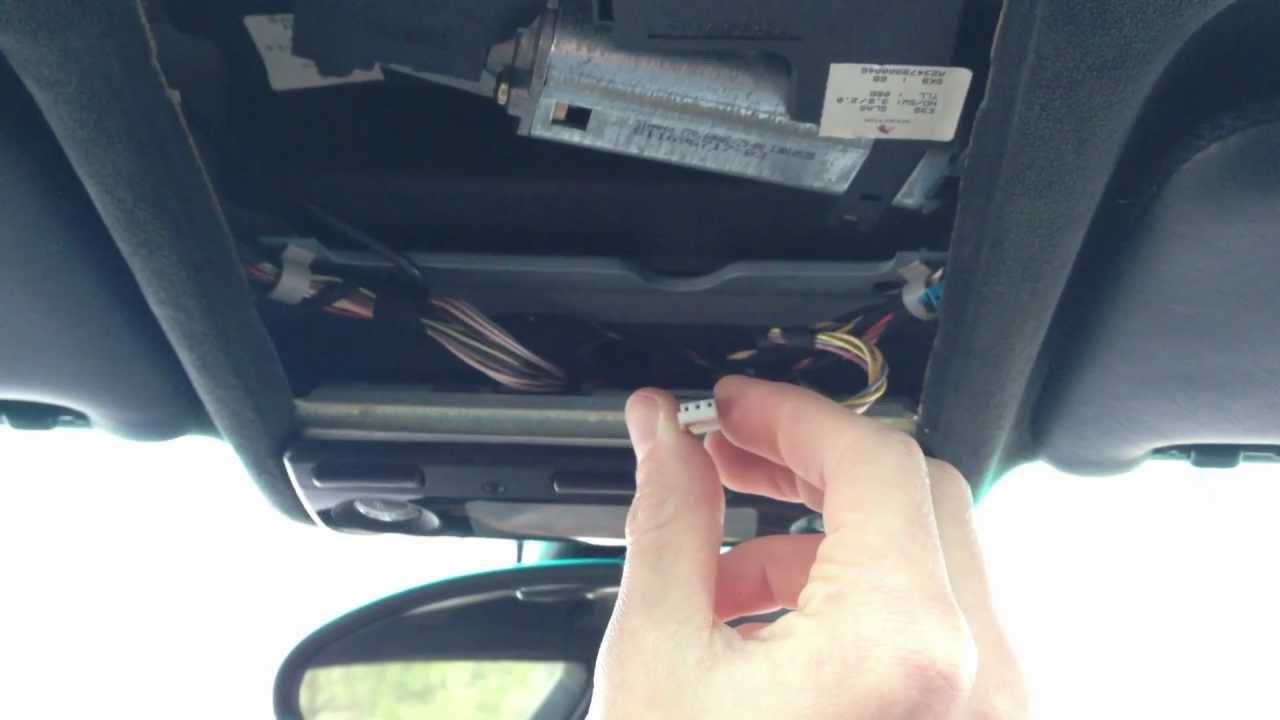 Bmw E39 5 Series Homelink Garage Door Opener Install Program Youtube