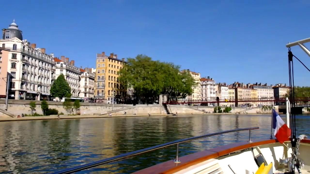 De Lyon Vaise à La Confluence Un Tour Sur La Saône En