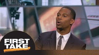 Victor Cruz: Odell Beckham Jr. has chance to be one of greatest receivers | First Take | ESPN