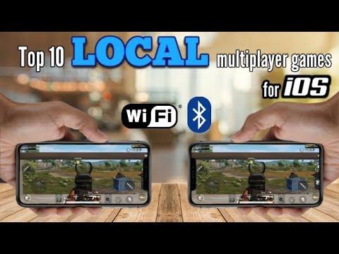 Top 10 LOCAL Multiplayer Games For IOS Via WiFi/Bluetooth Offline