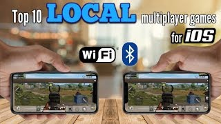 Top 10 LOCAL multiplayer games for iOS via WiFi/Bluetooth offline