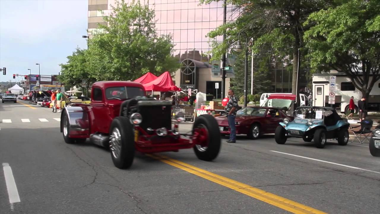 Quirk Cars NH Cruising Downtown Car ShowManchester NH YouTube - Car show downtown