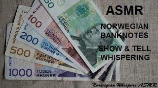 ASMR Norwegian Notes Whispered Show & Tell ~ English version