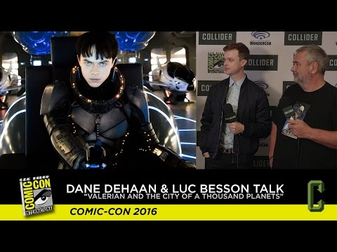 """Dane DeHaan & Luc Besson Talk """"Valerian and the City of a Thousand Planets"""" - Comic Con 2016"""