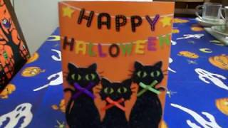 Cute Halloween Card From The Beautiful StephanieLovesFall!