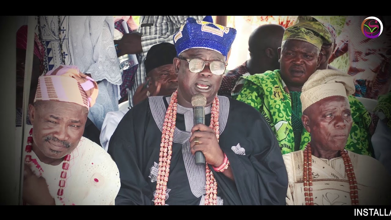 Download Installation ceremony of All the baale in council, in ijagba titun otta, awori land
