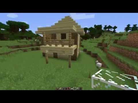 Как построить маленький, но красивый и уютный дом в маинкрафт 4.
