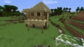 Как построить маленький, но красивый и уютный дом в маинкрафт 4.(Привет , в этом видео я расскажу про то как построить маленький и уютный дом в маинкрафт. Приятного просмотр..., 2016-06-01T06:43:32.000Z)