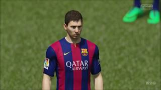 FIFA 15 - FC Barcelona vs Chelsea Gameplay [HD]