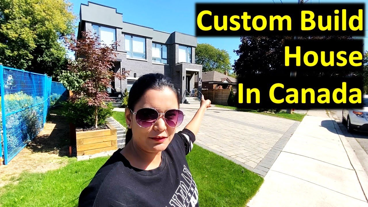 Inside A Custom Build House In Canada | Luxury House Tour | Canada Couple Vlogs