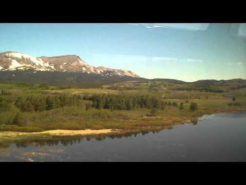AMTRAK Empire Builder Whitefish MT To Glacier Park