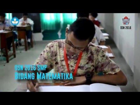Hari Ke 3: Pelaksanaan Lomba OSN 2016 Tingkat SMP