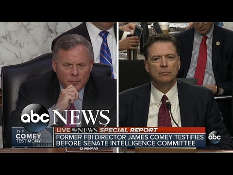 Sen. Richard Burr questions James Comey