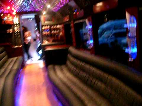 Inside A Party Bus Youtube