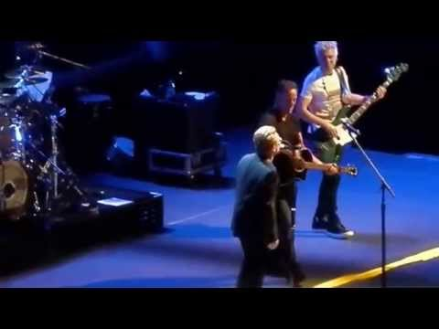 U2 Concert MSG 7-31-15 U2ieTour Encore Bruce Springstein