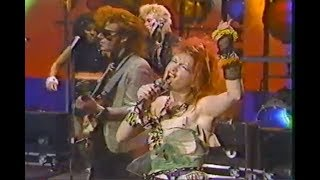 """Cyndi Lauper """"Girls Just Want  to Have Fun"""" The Tonight Show - March 1, 1984"""