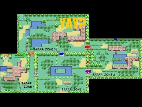 HAVING FUN IN SAFARI ZONE! - Pokemon LeafGreen Part 14 on leaf green route 10 map, old pokemon white map, pokemon leaf green map, leaf green rock tunnel map, leaf green victory road map, leaf green power plant map, leaf green seafoam islands map, leaf green silph co. map, fire red kanto region map, leaf green viridian forest map,