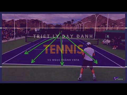 VNTA - Triết Lý Dạy Đánh Tennis Phong Trào Chuyên Nghiệp 2019