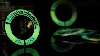 видео Как сделать подсветку замка зажигания
