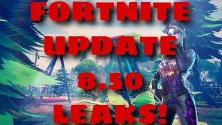 Fortnite Battle Royale Update 8.50 LEAKED Cosmetics , Loading Screens , Fortnite X Avengers LEAKS!