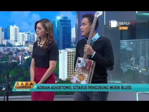 Yuk, Ngobrol Bareng Musisi Blues Adrian Adioetomo!