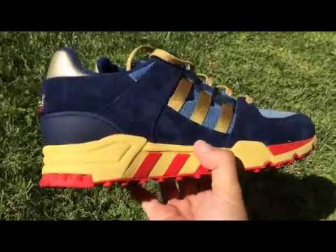 sports shoes a5bb0 bb5b6 KoF Mailbox  Packer Shoes x adidas Originals EQT Running Support