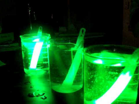 Glowstick Reaction Rate 0809 1 Youtube
