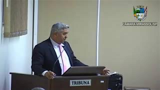 2ª Sessão Ordinária - Vereador presidente Marcão Alves