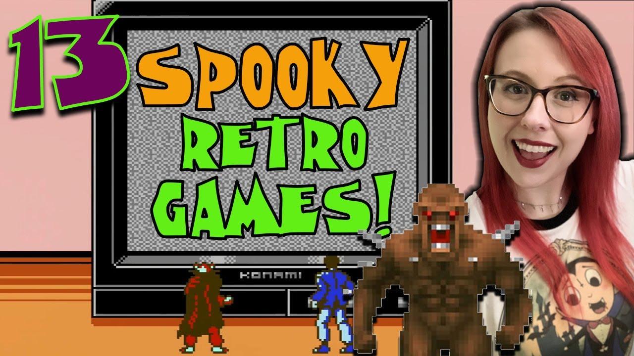 13 Spooky Retro Games! – Erin Plays