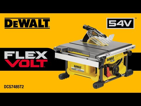 scie table 54v dewalt youtube. Black Bedroom Furniture Sets. Home Design Ideas