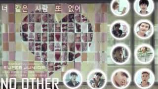 No Other - Super Junior + mp3 dowload