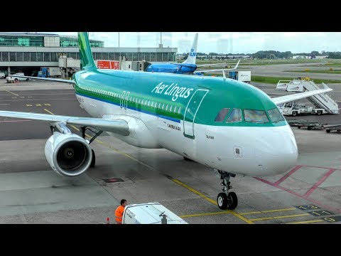 Tripreport - AerLingus A320 - Travelling from Amsterdam to Dublin (and Cork) 4K