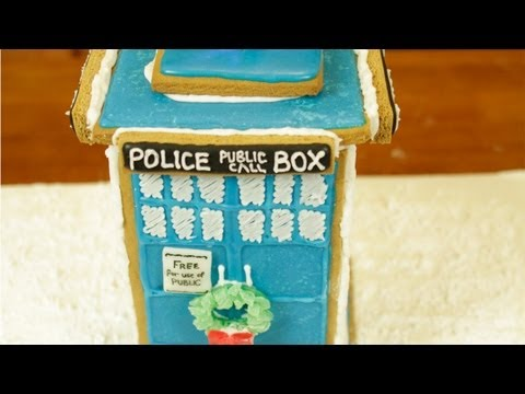 Make DR WHO TARDIS GINGERBREAD HOUSE - NERDY NUMMIES Snapshots