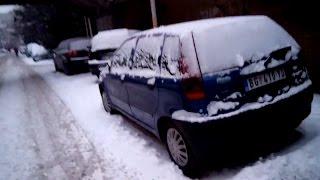 Cold start Fiat Punto (-25 ° C)
